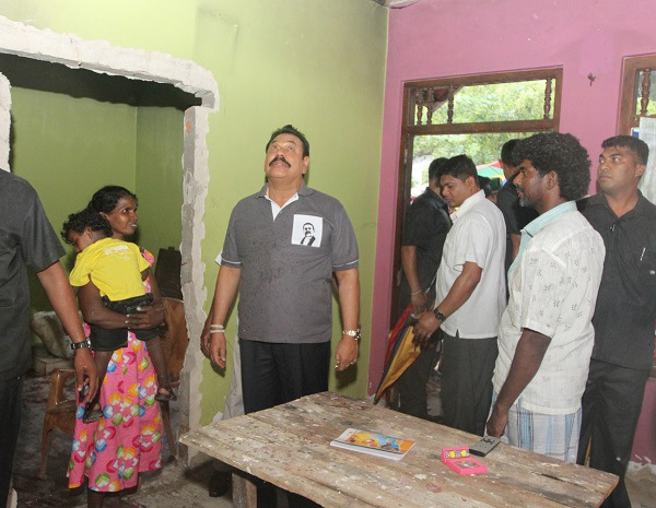 President inspects Beruwala and Aluthgama reconstruction work