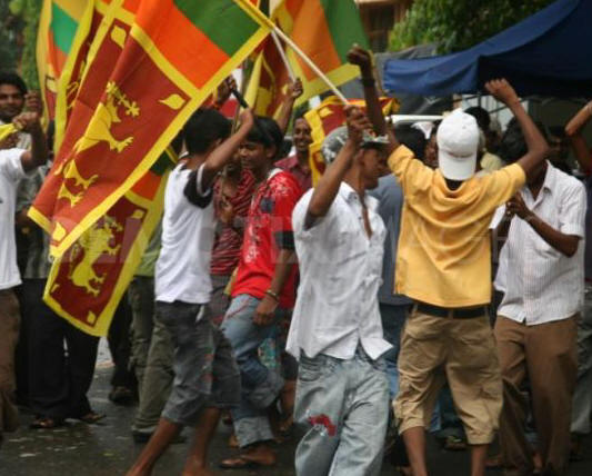 Sri Lanka celebrates the end of war--demotix.com--71496