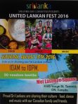 Srilanka day flyer